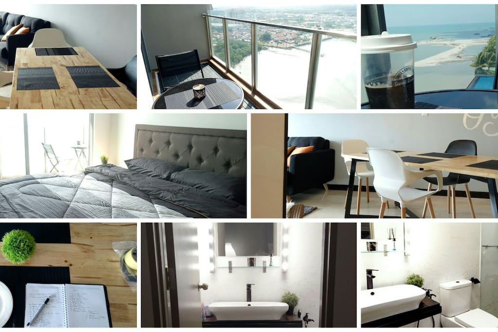 So many choices on airbnb. I want something different, visually compelling and comfortable.
