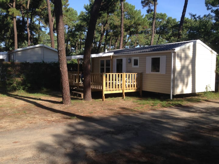 """Mobil-home """"HIPPOCAMPE"""" 6 personnes, 3 chambres"""