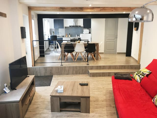 Maison de 90 m2, jusqu'à 8 personnes