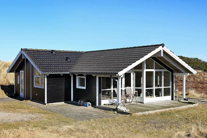 Modern Holiday Home at Thisted Jutland with Indoor Whirlpool
