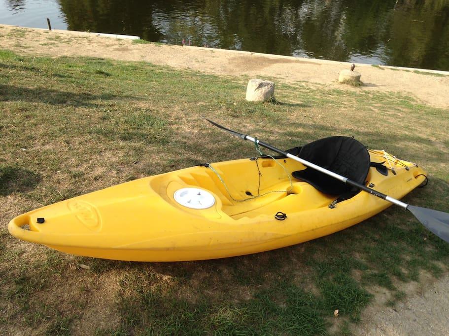 Kayak Bic Bilbao (kayak de pêche)