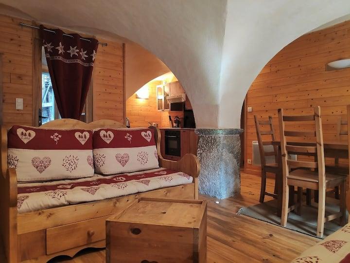 Village: Appartement voûté, 60m² - 6 personnes