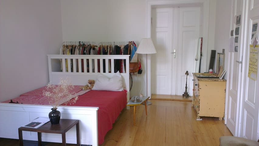 Spacious room with a lot of light - Dresden - Wohnung