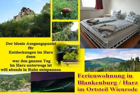 Wienrode 2 bis 4(5) Gäste - 47 m² Wohnung am Harz
