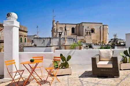 Palazzo Belvedere Salento - App. Melograno - Surano