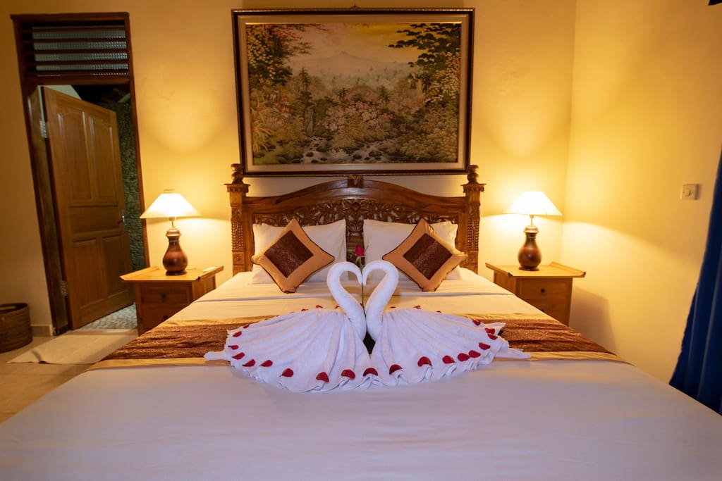 Our bad is very comfortable and the sheets we prepare for  standard 5 stars hotel with 4 pillows