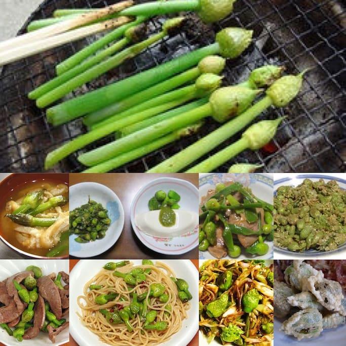 ホルミシスネギのネギ坊主の調理例です。 余り知られていませんが、和食や洋食にも相性が良いです。 期間限定メニューの為、ご希望の方は事前にお問い合わせください。  A cooking example for leek head of Hormesis leek. This leek head is compatible in Japanese food and Western food. This leek head is Period limitation food.