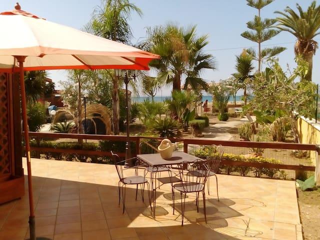 Villa sulla spiaggia a Marinella - Porto Empedocle - Villa