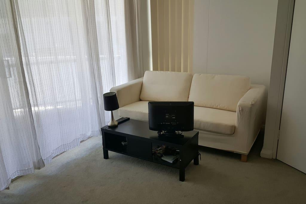 Sofa bed 2p, tv