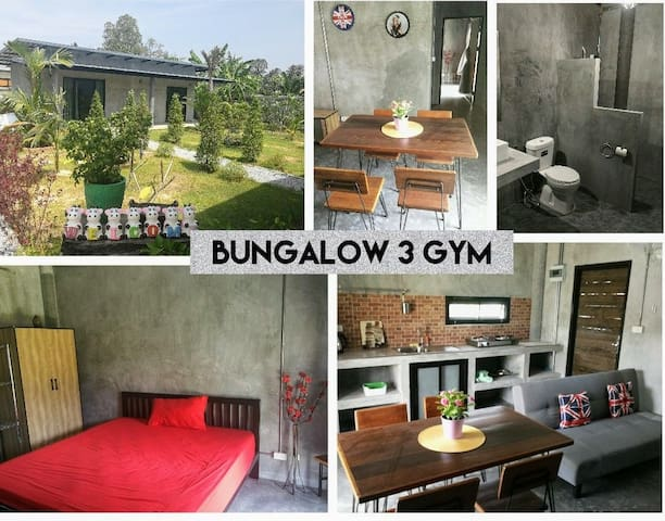 Bungalow loft style Muay Thai fitness camp