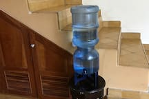 Purified drinking water is provided for all guests at no additional charge. Ice trays are also provided in the freezer.