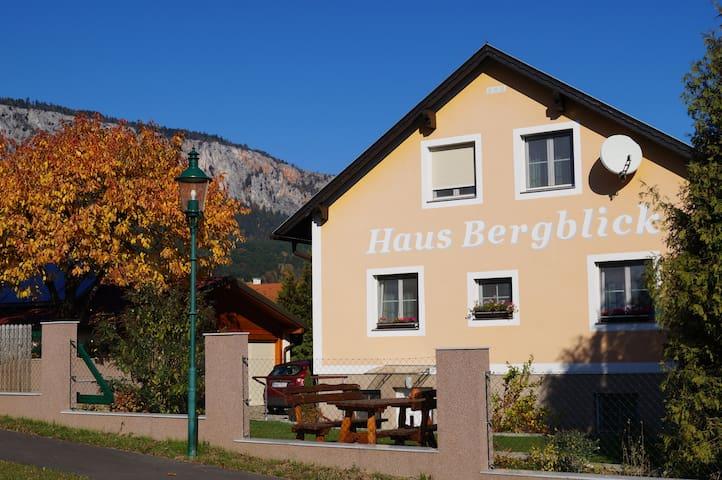 Haus Bergblick (Punkt) net - AHORNZIMMER - Maiersdorf - Inap sarapan