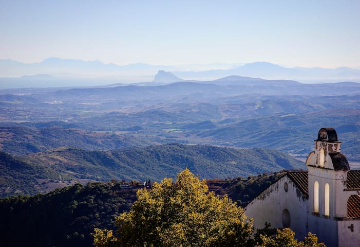 Stunning views from an Andalusian 'pueblo blanco'
