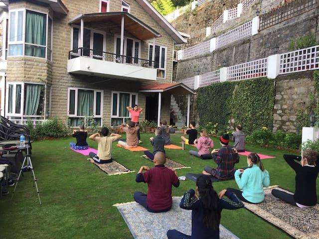 Himalayan Yoga & holiday retreat