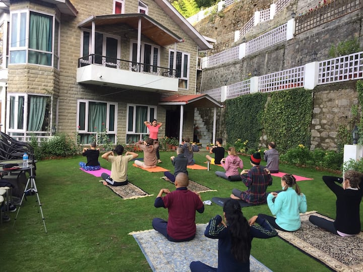 Himalayan Yoga & holiday retreat