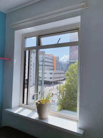 Cozy room with window view Markthal