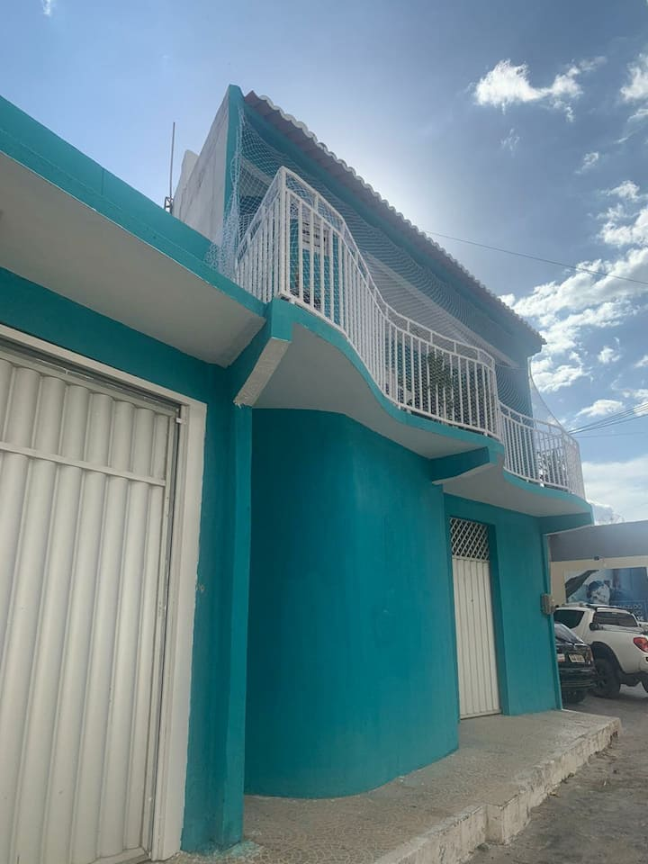Casa Azul, local simples e aconchegante...