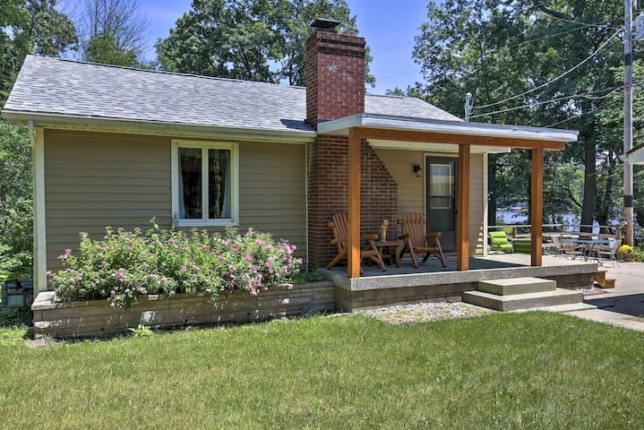 The secluded home was recently remodeled and updated with brand-new amenities and appliances.