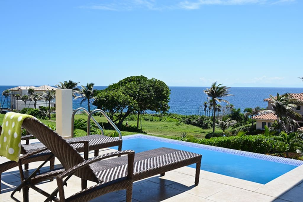 Stunning views from the pool deck.