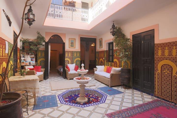 Medina:Comfort & Style -Derb Lakbir - Marrakesh - Bed & Breakfast