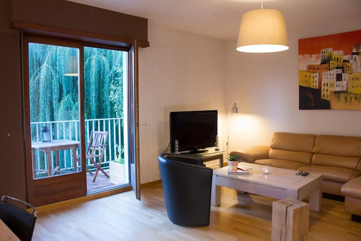 Appartement Cosy de 90m2  - Terrasse/Parking