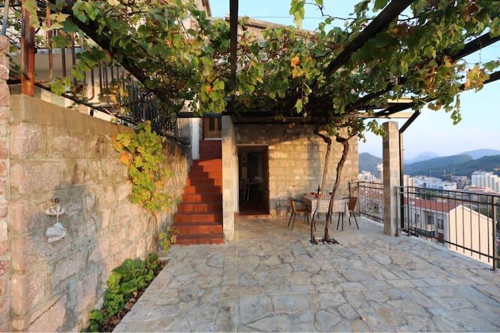 Дом с прекрасным видом в г. Петровац