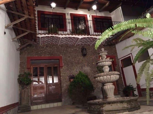 Casa típica de la region - Tapalpa