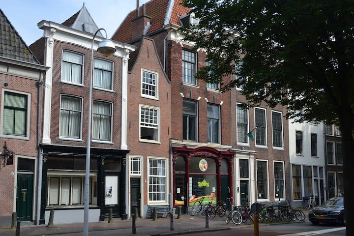 Monumental house in the city center of Leiden