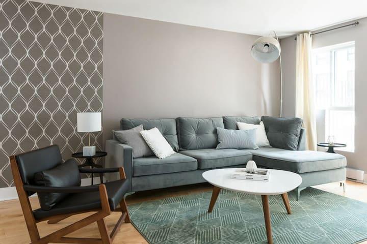 Appartement 2 chambres de charme dans le centre-ville