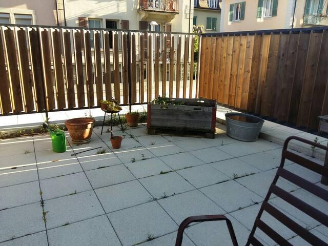Gemütliche Studiowohnung mit grosser Terrasse