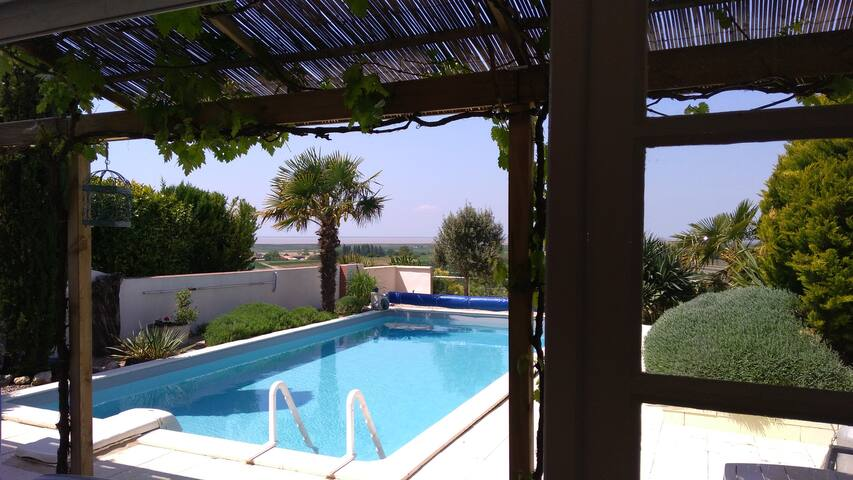 Le Panorama**** vue mer piscine salle de sport