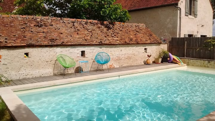Charming ecolodge in the Loire Valley