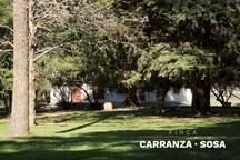 Finca Carranza Sosa, Departamento del Parque