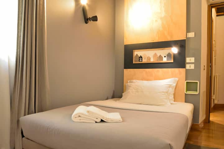 Small double room Treviso B&B Castelmenardo39