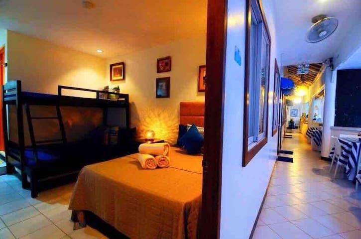 The Blue Veranda Suites  FAMILY ROOM 105/Max 5 pax