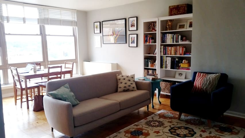 Spacious 1 bedroom in Dupont Circle - Washington - Appartement