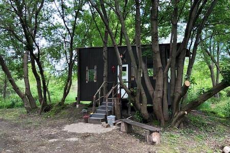 Treefort Cabin Retreat near Lake Michigan Beaches