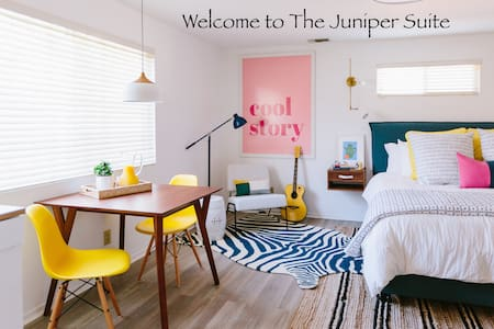 The Juniper Suite: Redlands Smart Home & Courtyard
