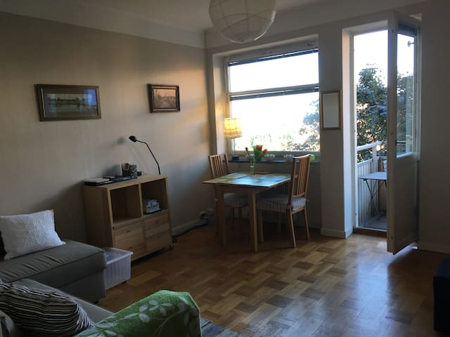 Studio near central Stockholm - Solna - Departamento