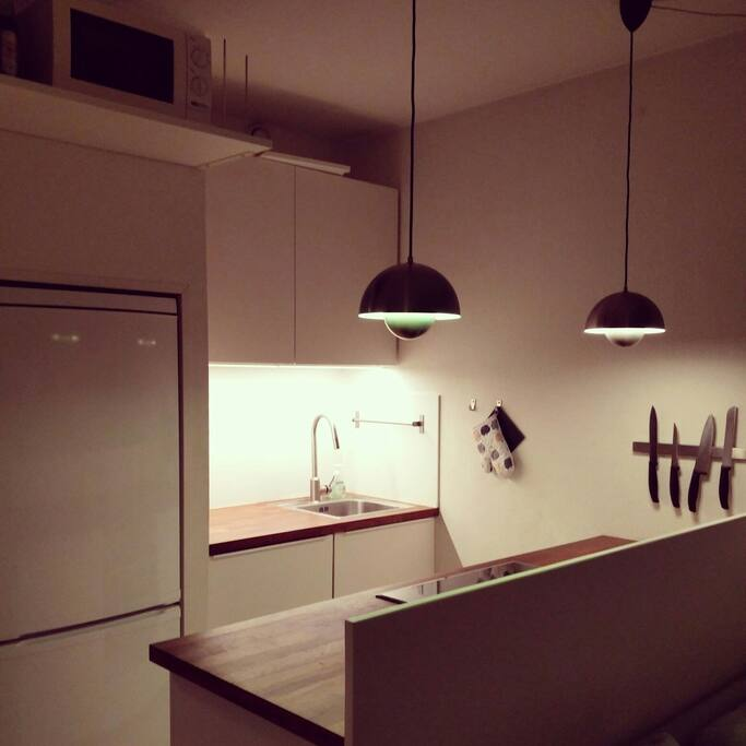 Kitchen... with dishwasher :)
