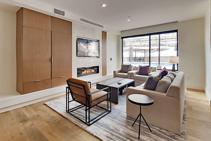 Luxury Condo in New Ski-In/Ski-Out Community