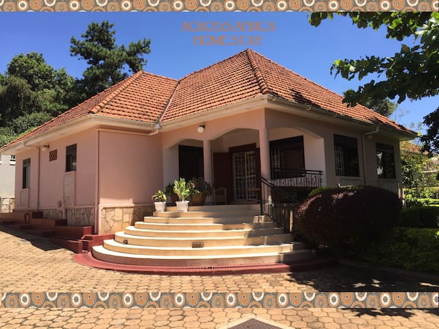 Across Africa Homestay - cozy rooms in MAKINDYE