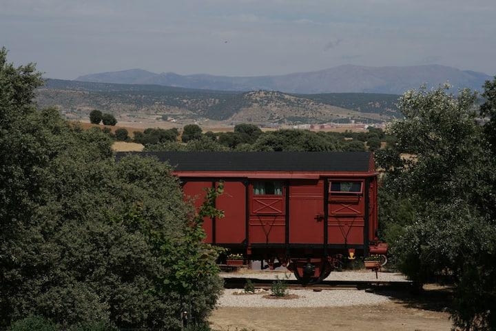 Casa vagón en Madrid