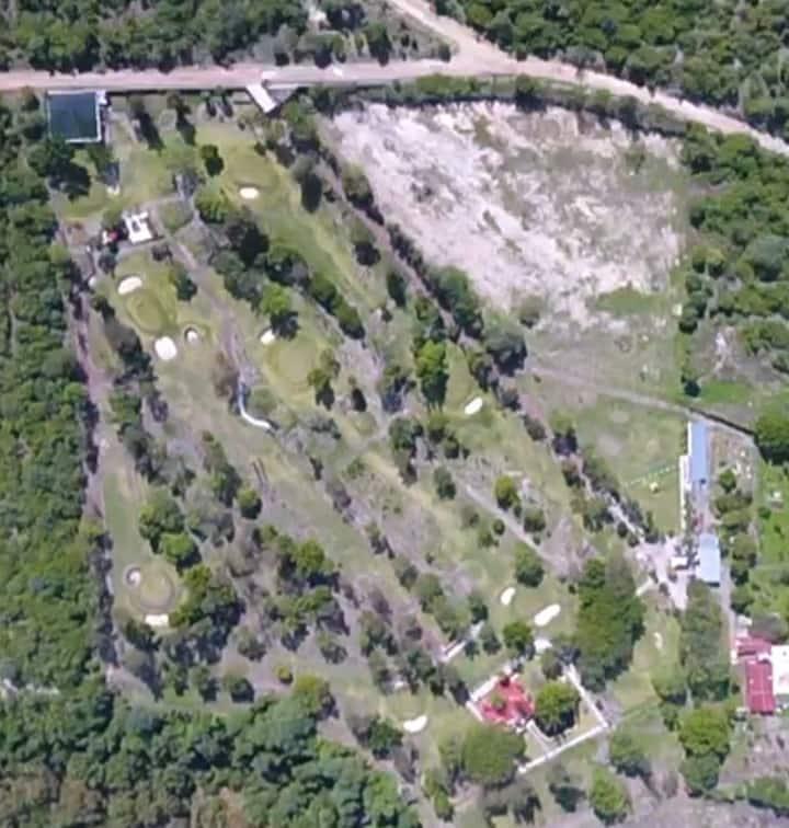Las Maravillas Suites con campo de golf en Morelos