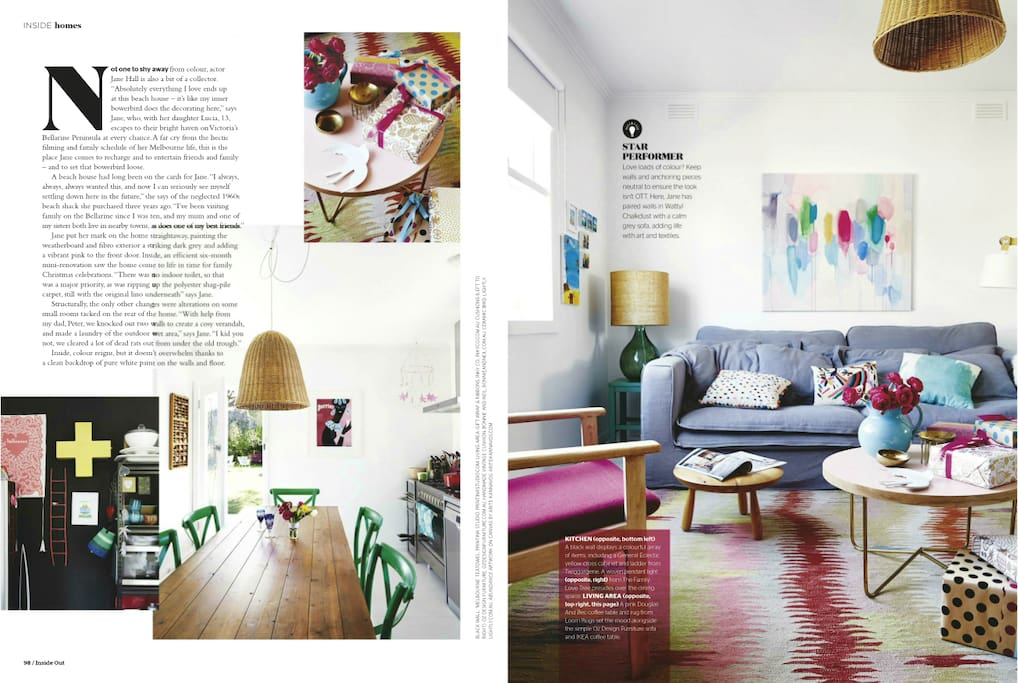 Dining, Lounge, styled for mag