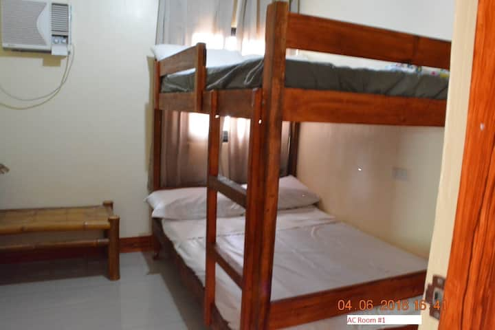 Beach-side A/C Bedroom-1- Bignay-1, Sariaya,Quezon