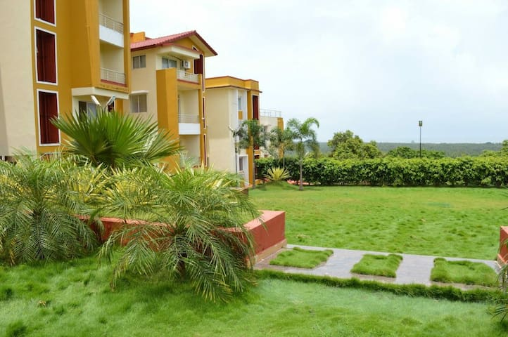 3BHK Apartment with Sea View & Pool