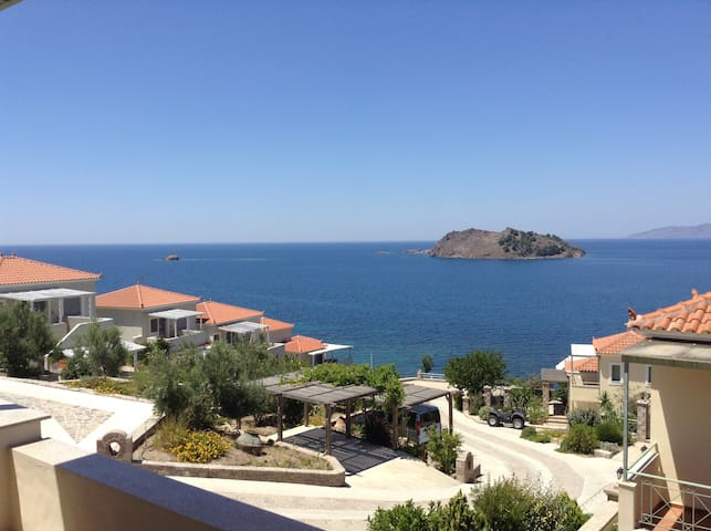 Lesvos Greek Island Apartment (2 bedroom) - Petra - House