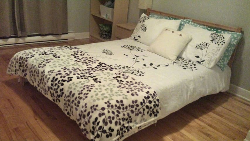 Cozy room/free parking in LONGUEUIL - Longueuil - Apartment