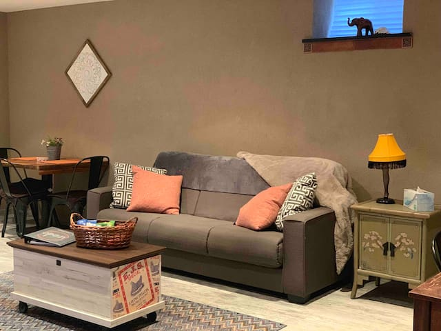 Cozy, Private 1 Bedroom Basement Apartment